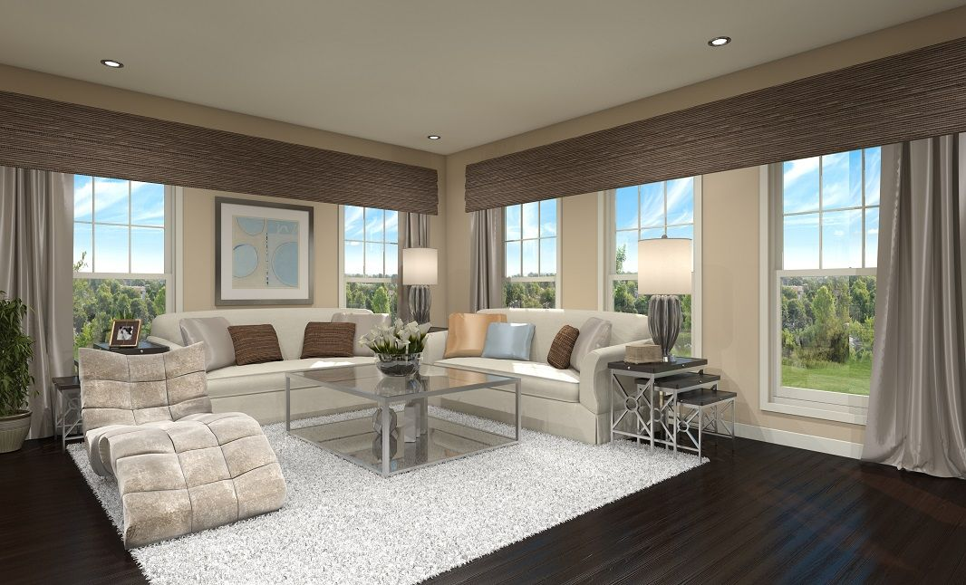 Living Area featured in the Montgomery By S & A Homes in York, PA