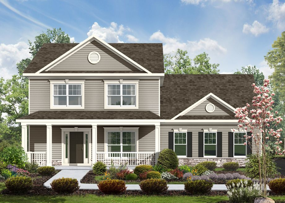 Exterior featured in the Montgomery By S & A Homes in York, PA