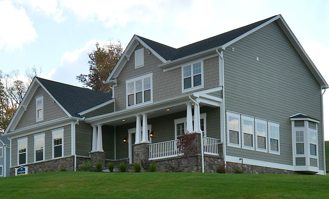 Exterior featured in the Wyndham By S & A Homes in State College, PA