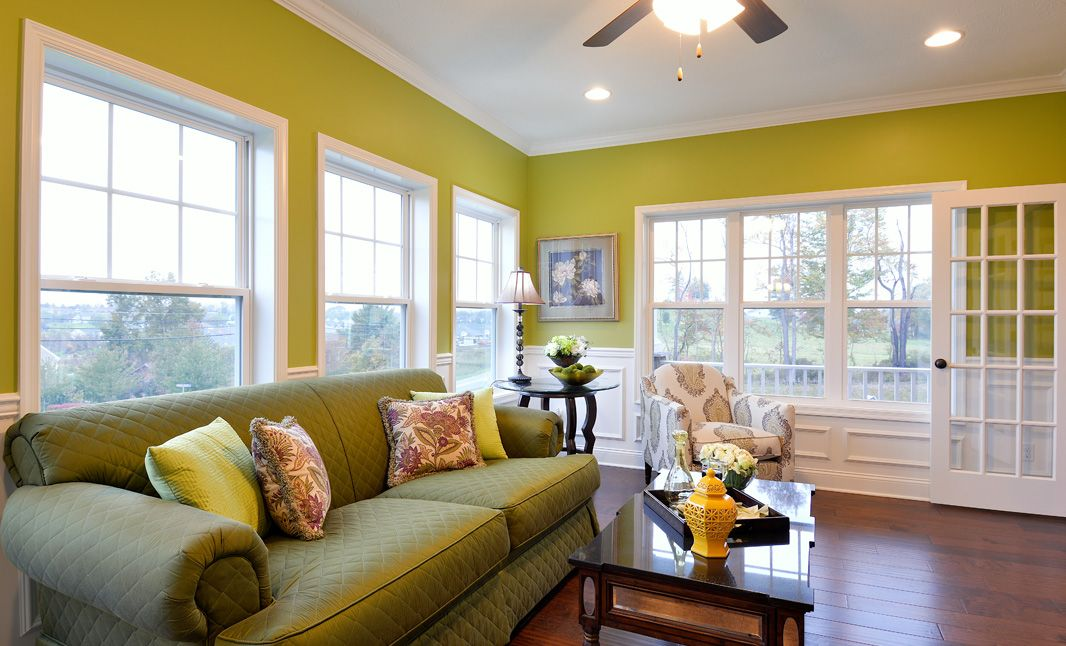 Living Area featured in the Wyndham By S & A Homes in State College, PA