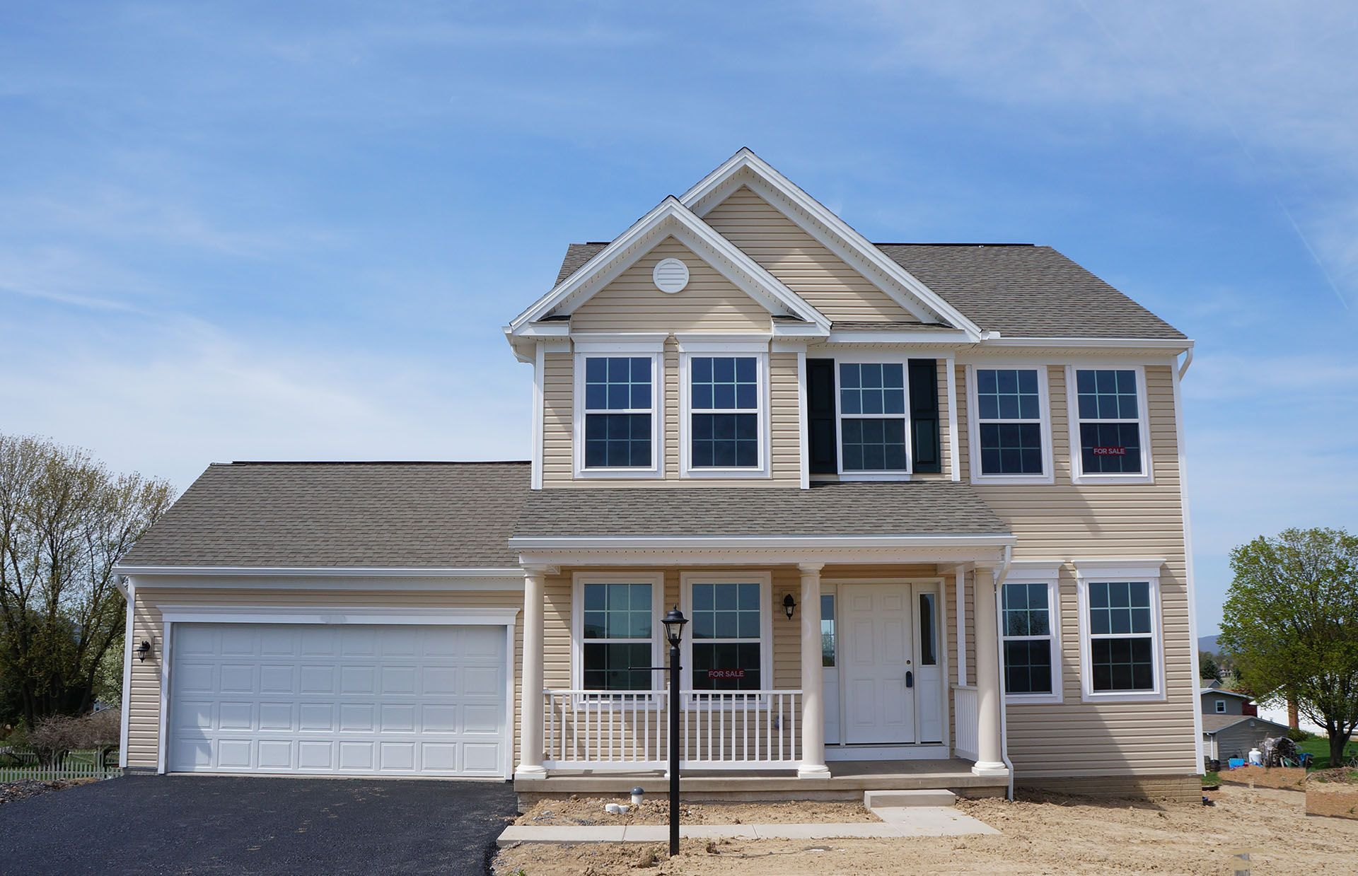 Exterior featured in the Fairmont By S & A Homes in Harrisburg, PA