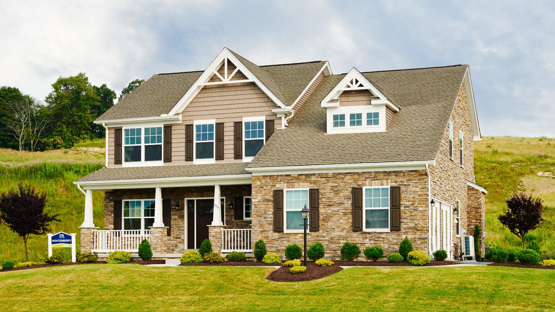 Exterior featured in the Newport By S & A Homes in State College, PA
