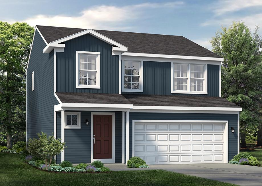 Exterior featured in the Kingwood By S & A Homes in Altoona, PA
