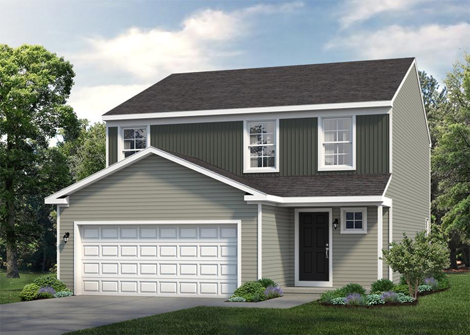Exterior featured in the Rosewood By S & A Homes in State College, PA