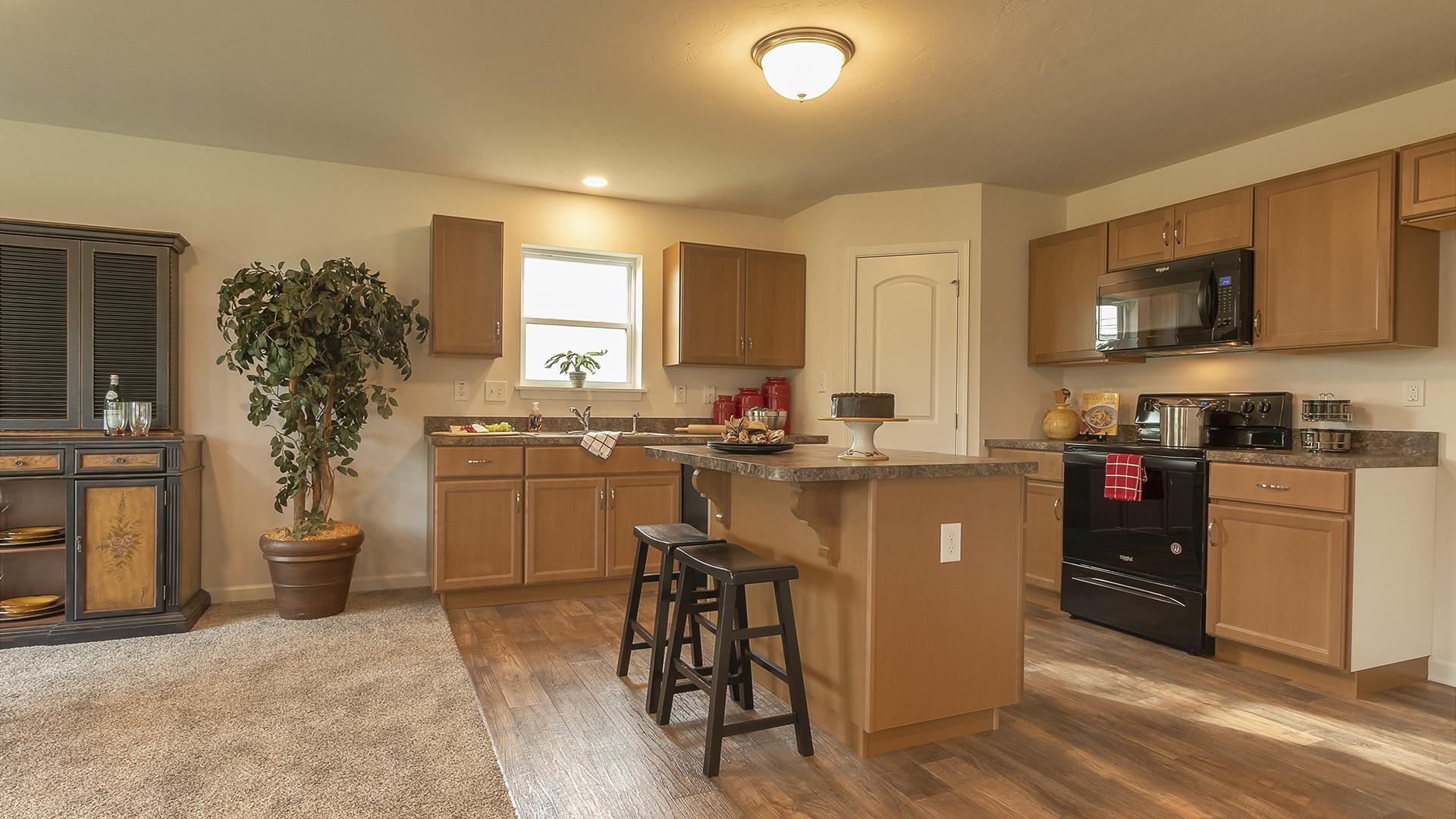 Kitchen featured in the Rosewood By S & A Homes in Altoona, PA