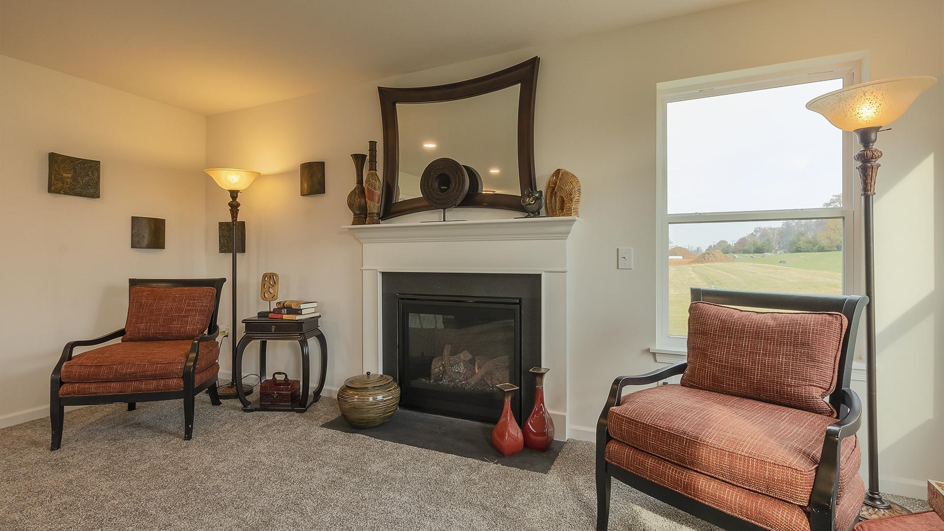 Living Area featured in the Rosewood By S & A Homes in Altoona, PA