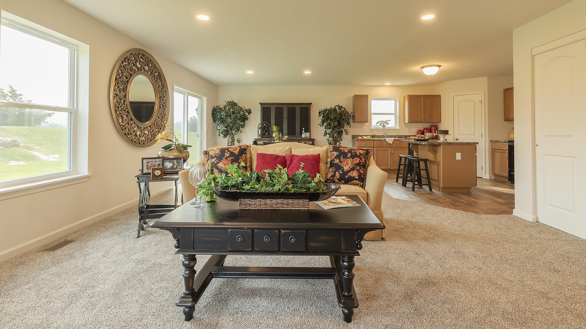 Living Area featured in the Rosewood By S & A Homes in State College, PA