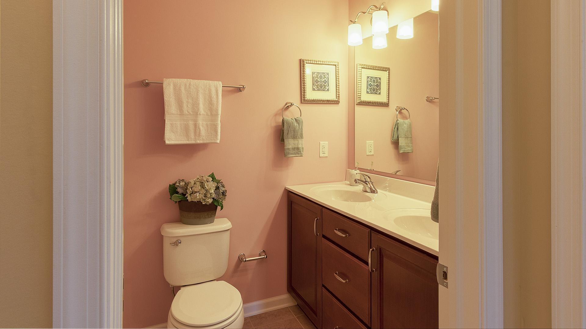 Bathroom featured in the Crestmont By S & A Homes in State College, PA