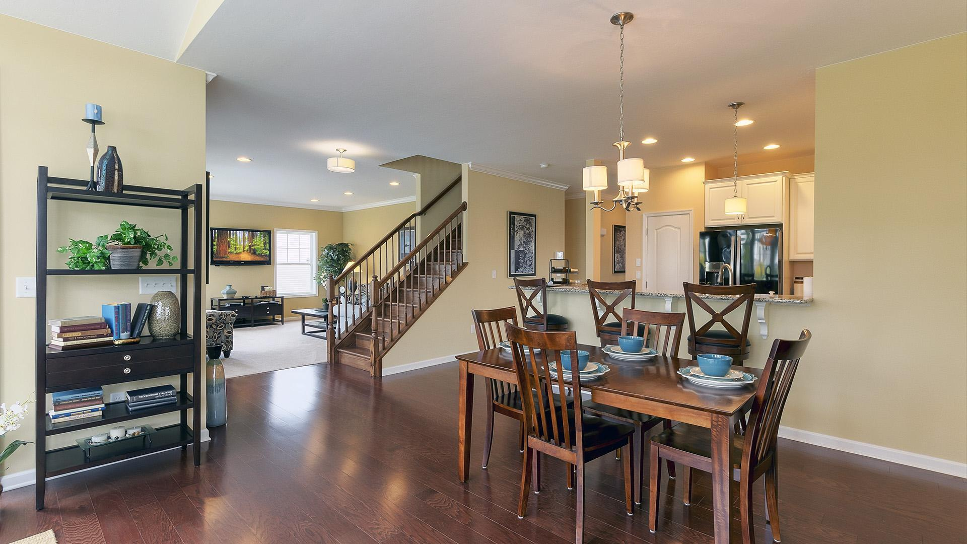 Living Area featured in the Crestmont By S & A Homes in State College, PA