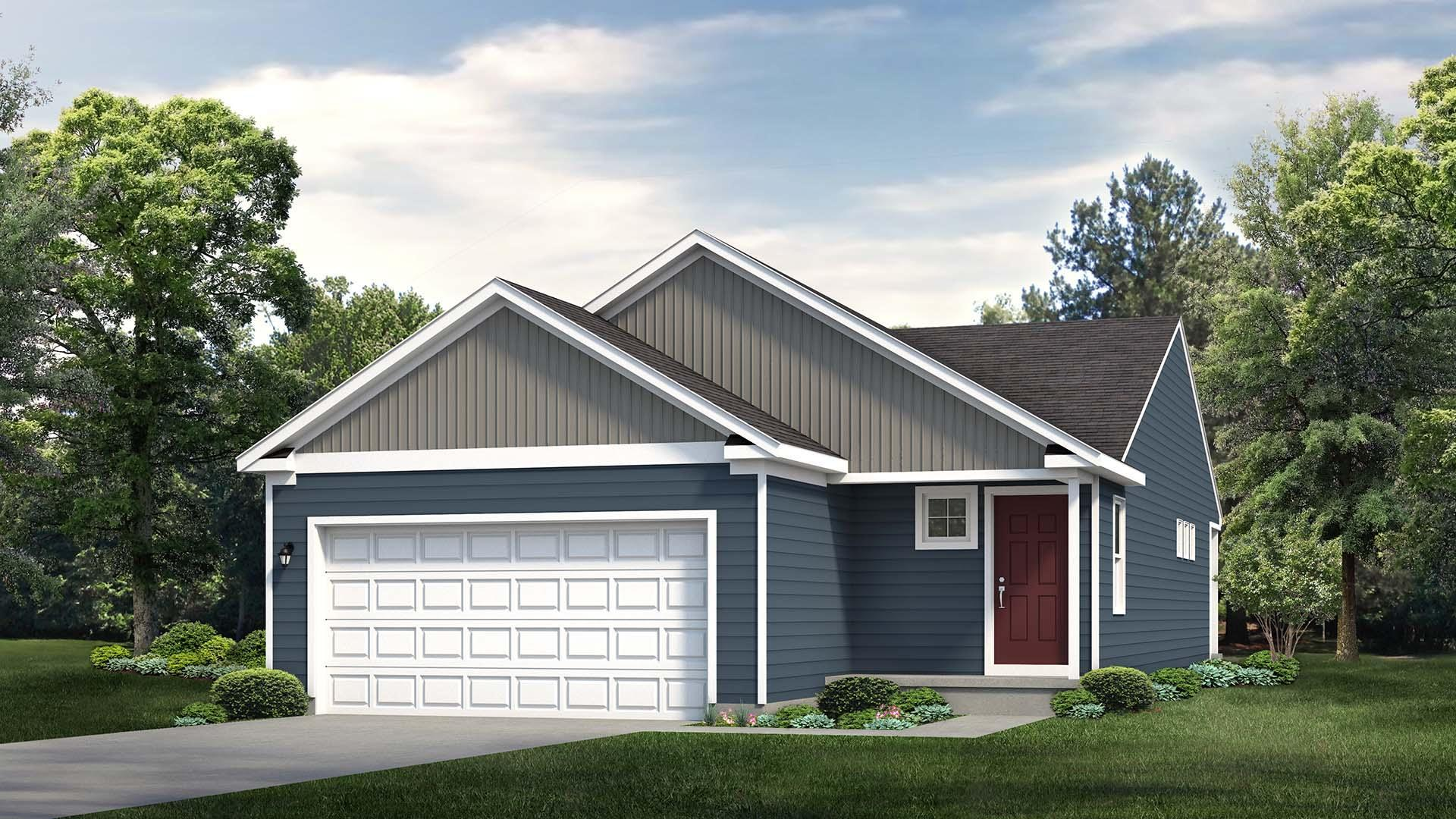 Exterior featured in the Glynwood By S & A Homes in State College, PA