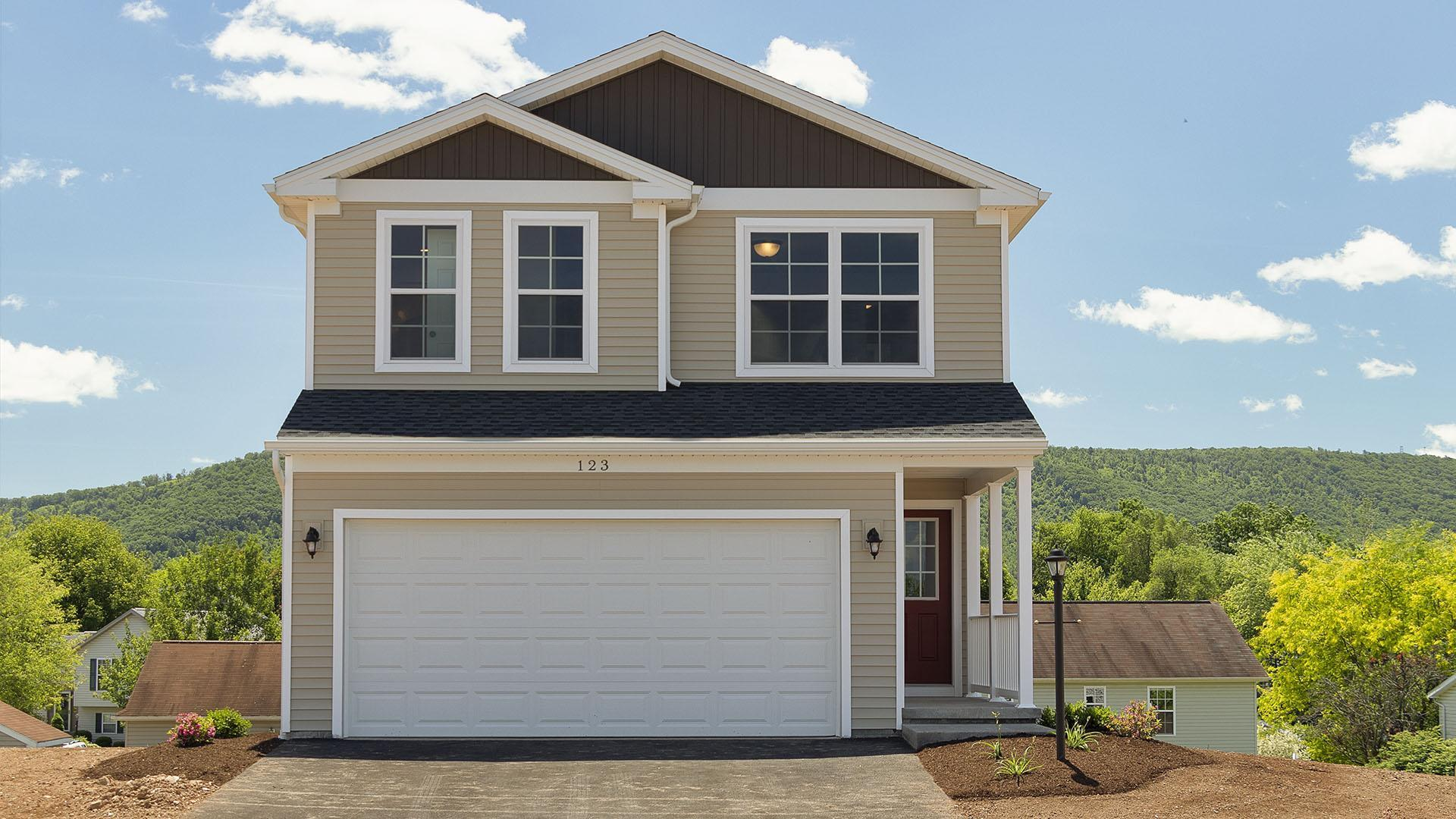 Exterior featured in the Pinewood By S & A Homes in State College, PA