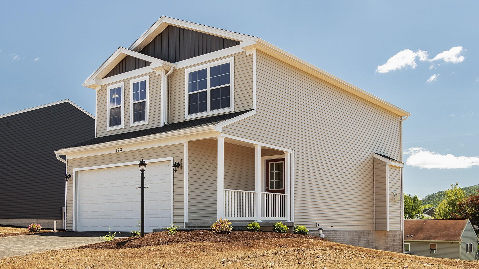 Exterior featured in the Pinewood By S & A Homes in Altoona, PA