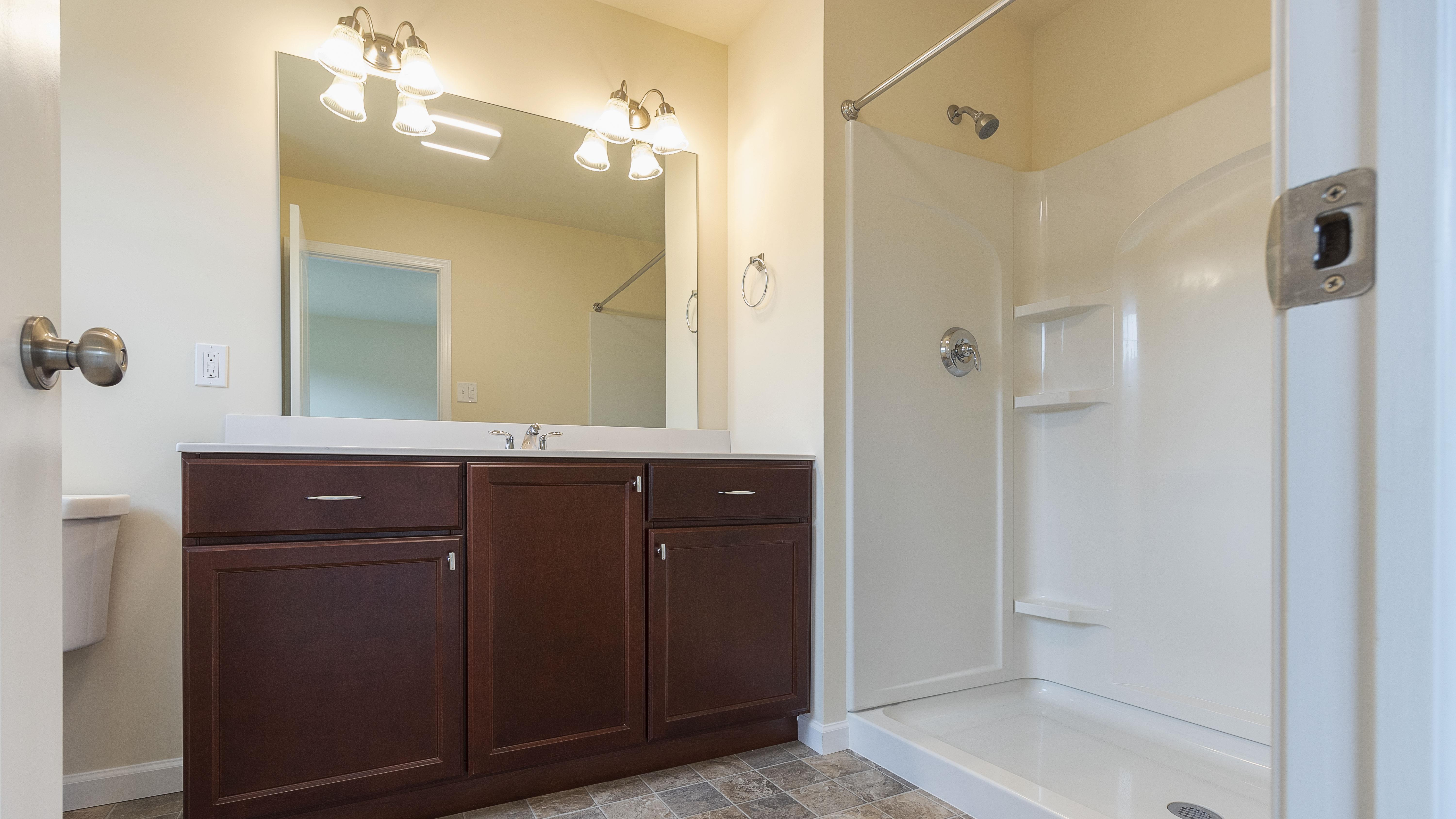 Bathroom featured in the Richfield By S & A Homes in Altoona, PA