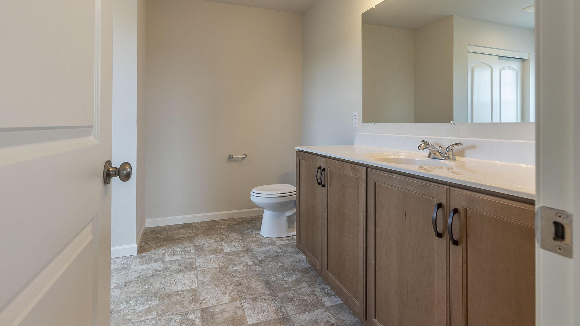 Bathroom featured in the Redwood By S & A Homes in Altoona, PA