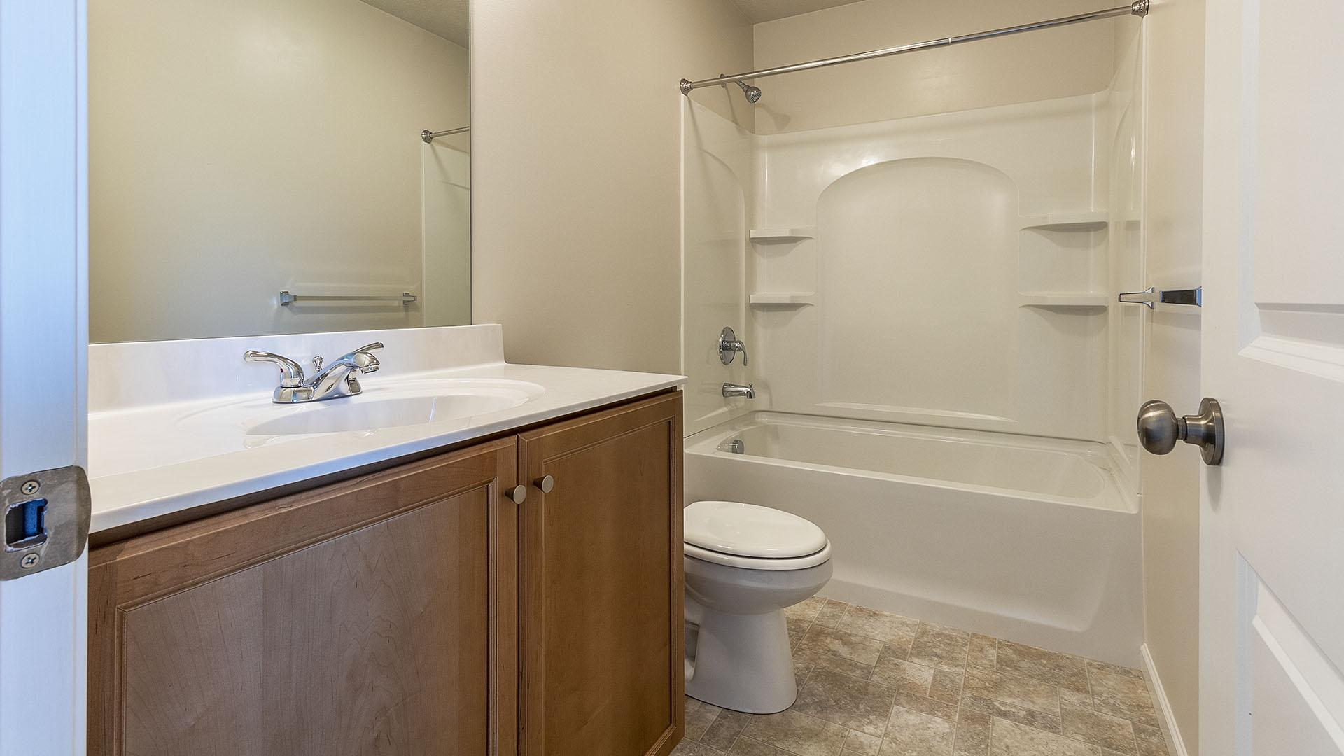 Bathroom featured in the Wynwood By S & A Homes in Altoona, PA