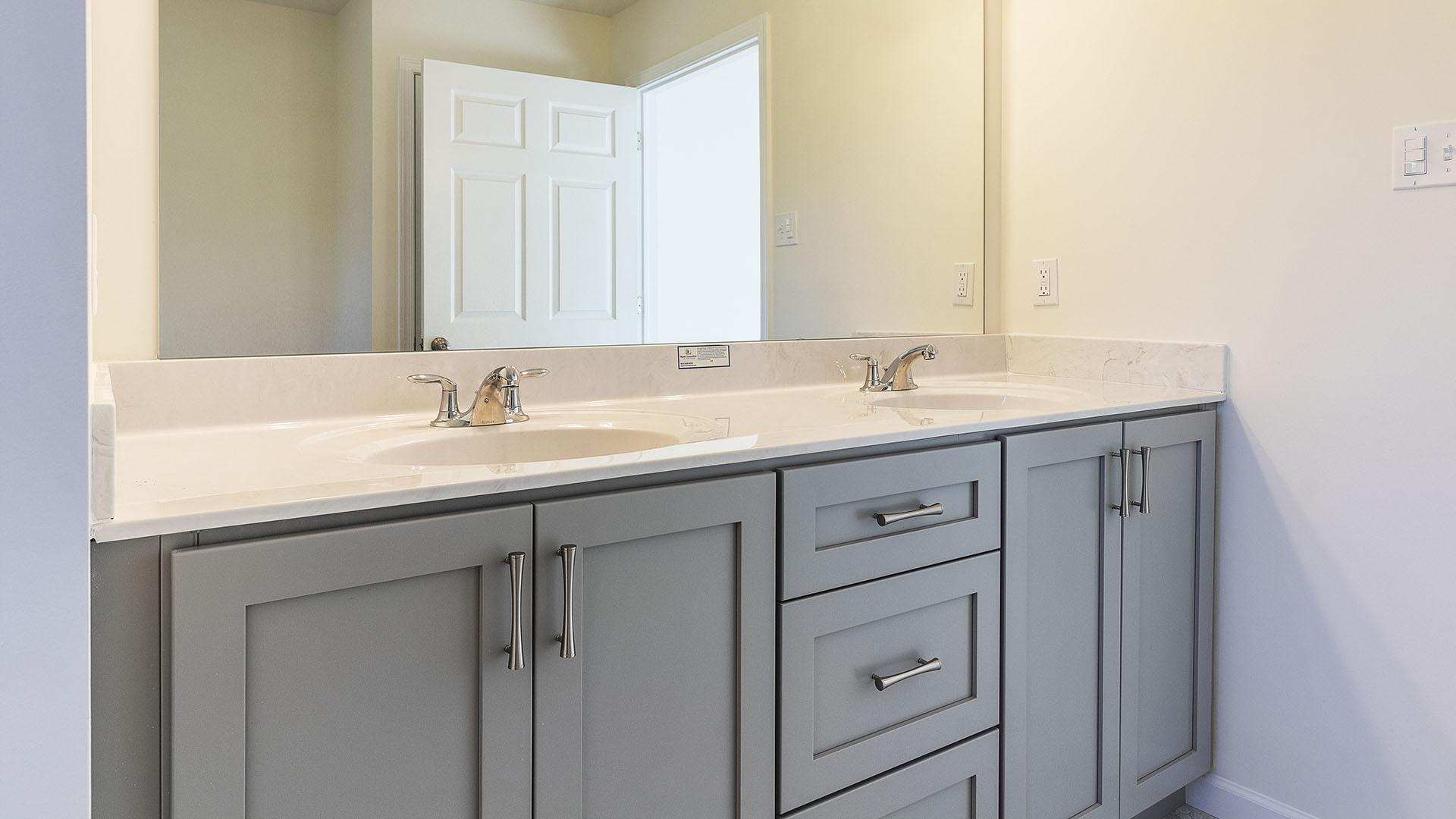 Bathroom featured in the Greenwood  By S & A Homes in Altoona, PA