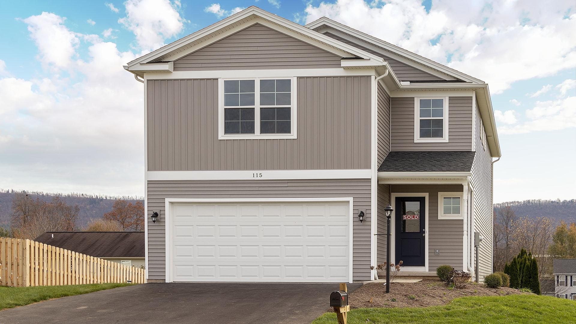 Exterior featured in the Wynwood By S & A Homes in Altoona, PA