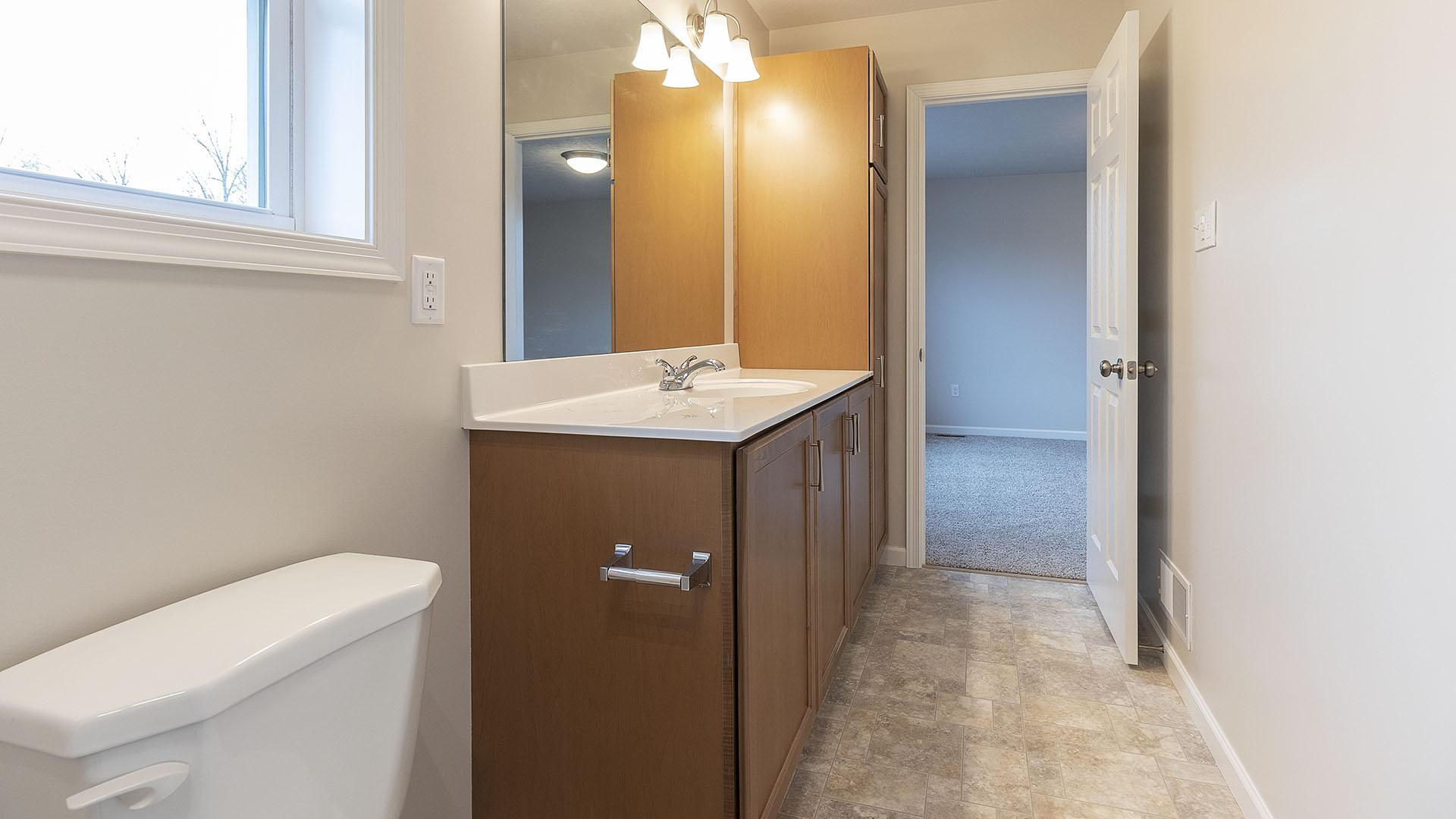 Bathroom featured in the Glynwood By S & A Homes in Altoona, PA