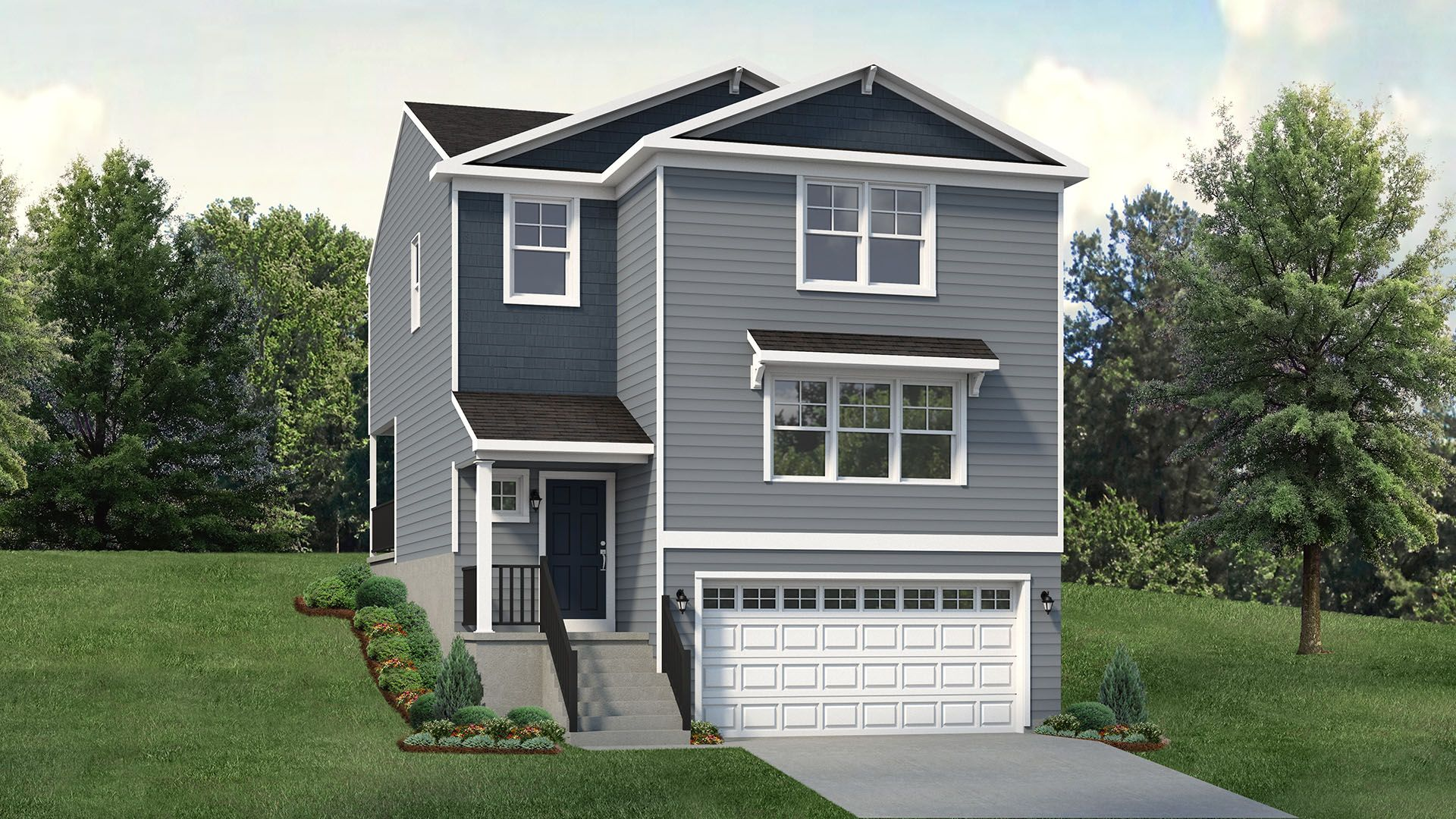 Exterior featured in the Riverwood By S & A Homes in State College, PA