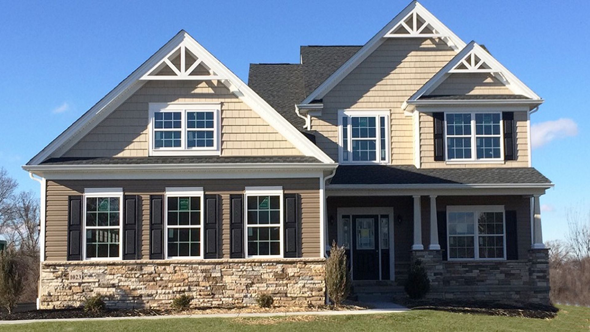 Exterior featured in the Bayberry By S & A Homes in Harrisburg, PA