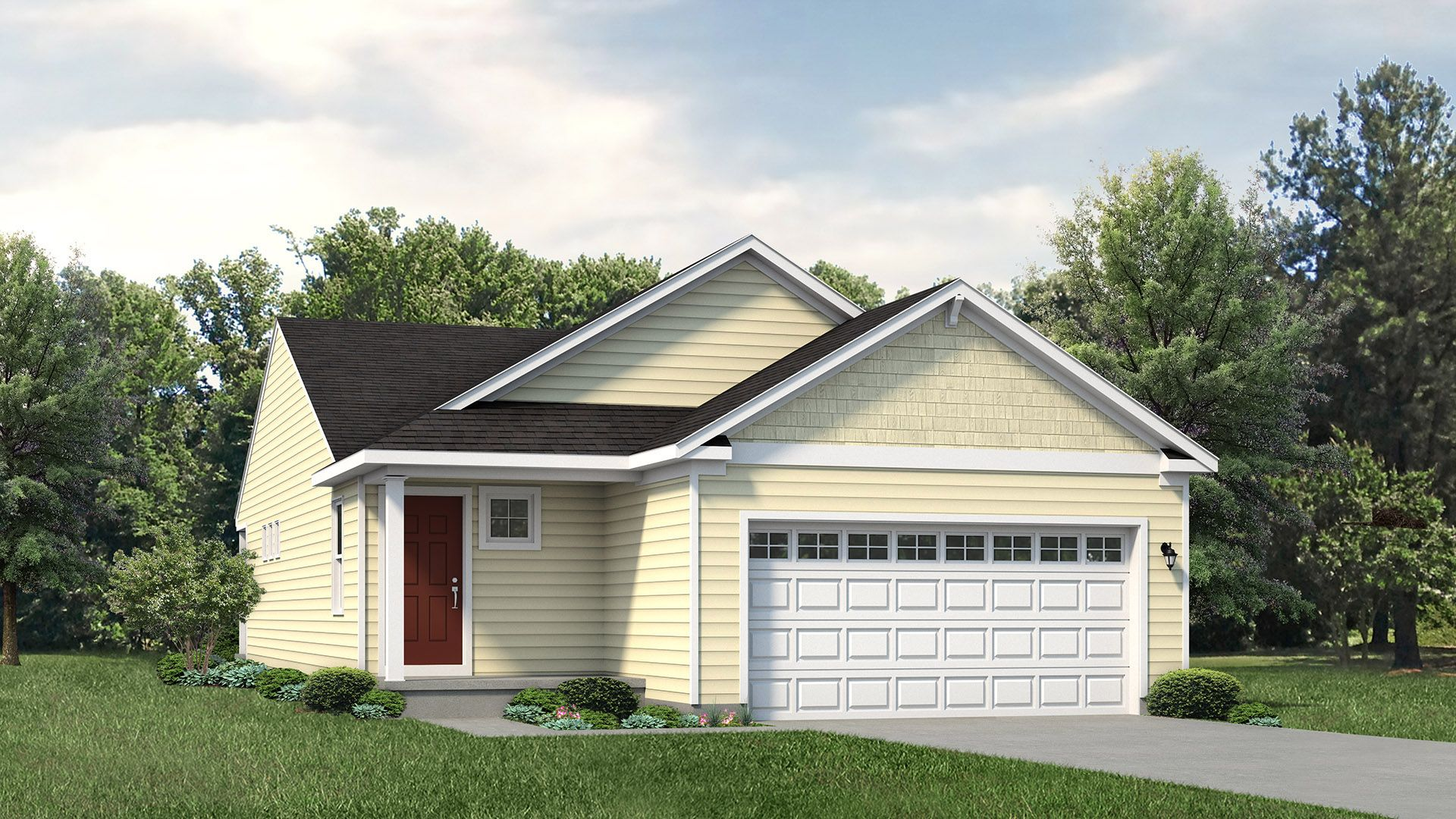 Exterior featured in the Glynwood By S & A Homes in Altoona, PA