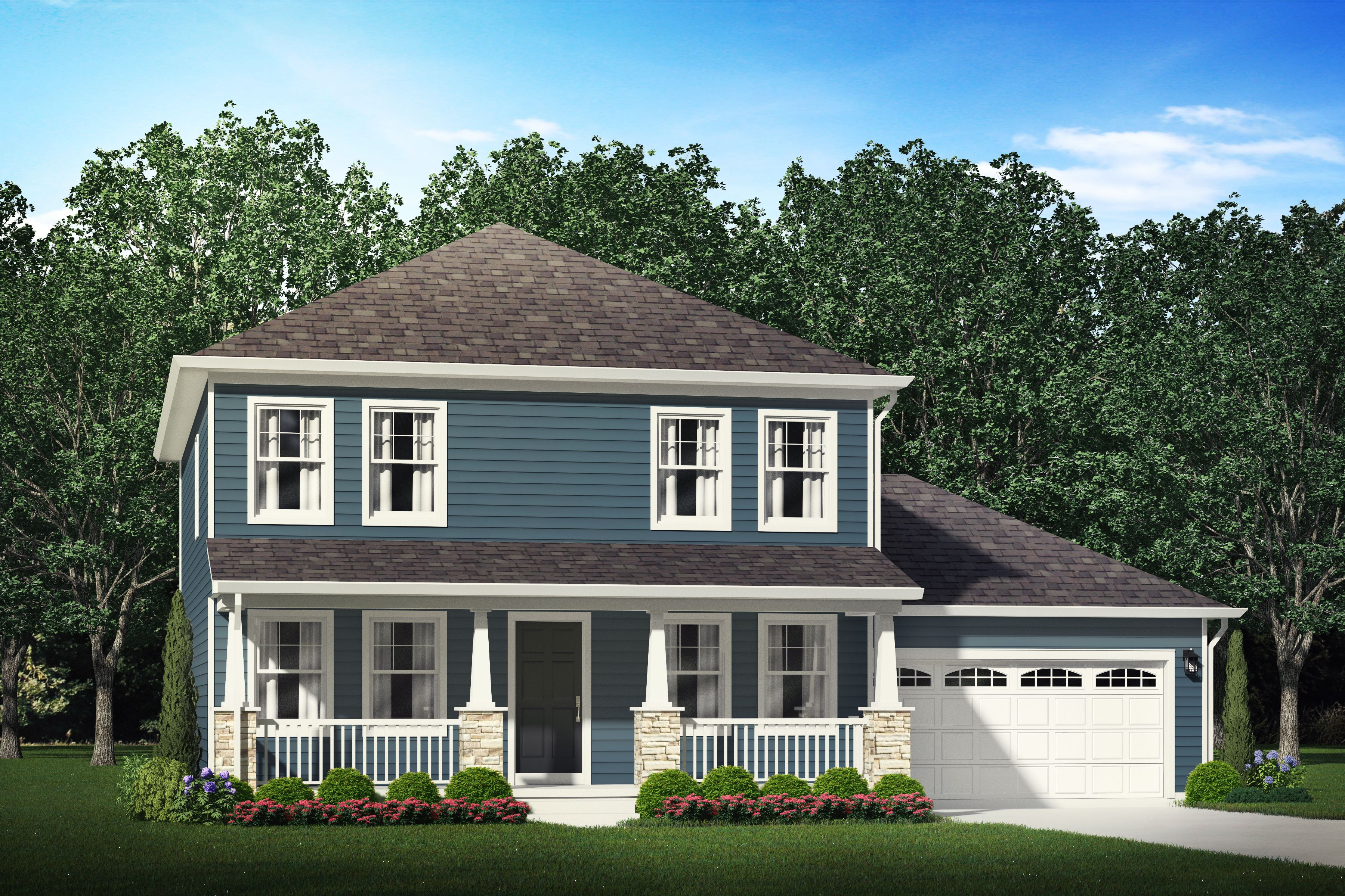 Exterior featured in the Claiborne By S & A Homes in State College, PA