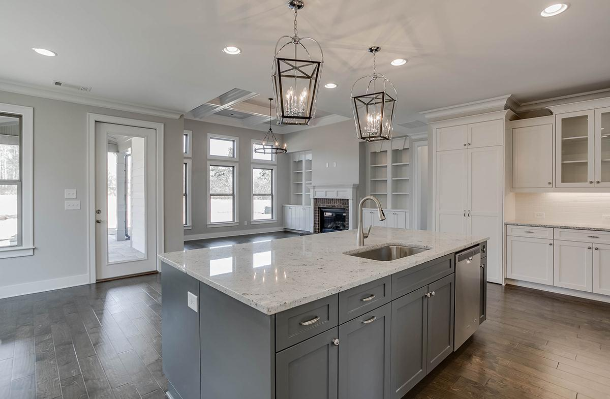 Kitchen featured in the Rosehill at Montebello By SR Homes in Atlanta, GA