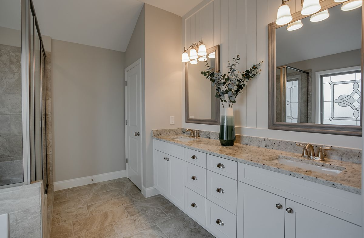 Bathroom featured in the Henson at Brentford Station By SR Homes in Atlanta, GA