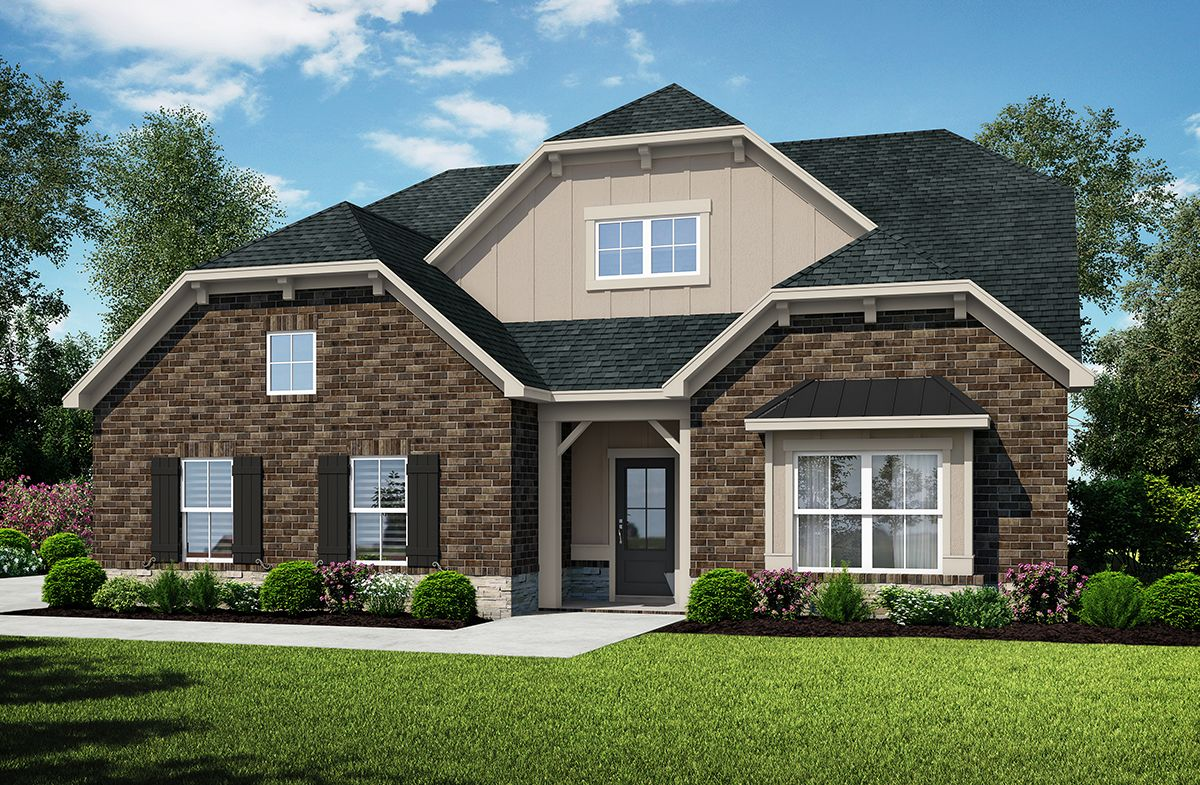 Exterior featured in the Brooklyn at Stonewood By SR Homes in Athens, GA