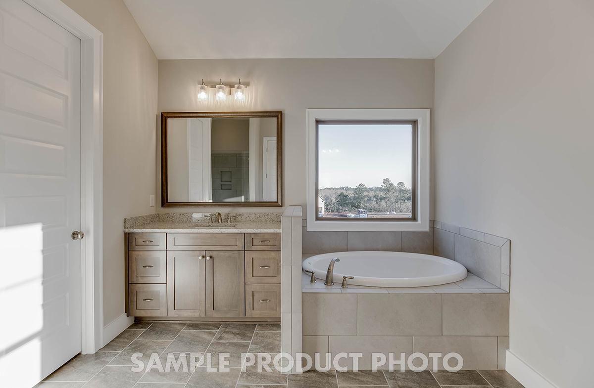 Bathroom featured in the Hartford at Camden Hall By SR Homes in Atlanta, GA