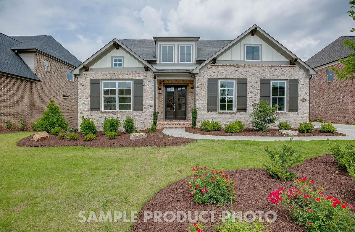Exterior featured in the Burchfield at Montebello By SR Homes in Atlanta, GA