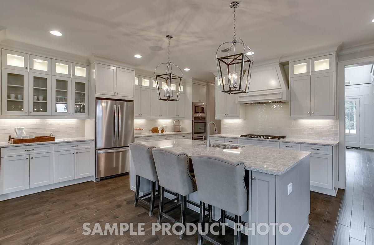 Kitchen featured in the Burchfield at Montebello By SR Homes in Atlanta, GA