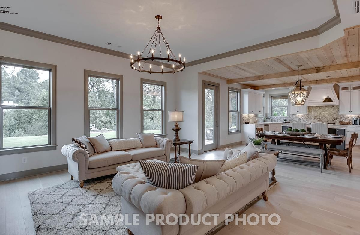Living Area featured in the Odette at Montebello By SR Homes in Atlanta, GA