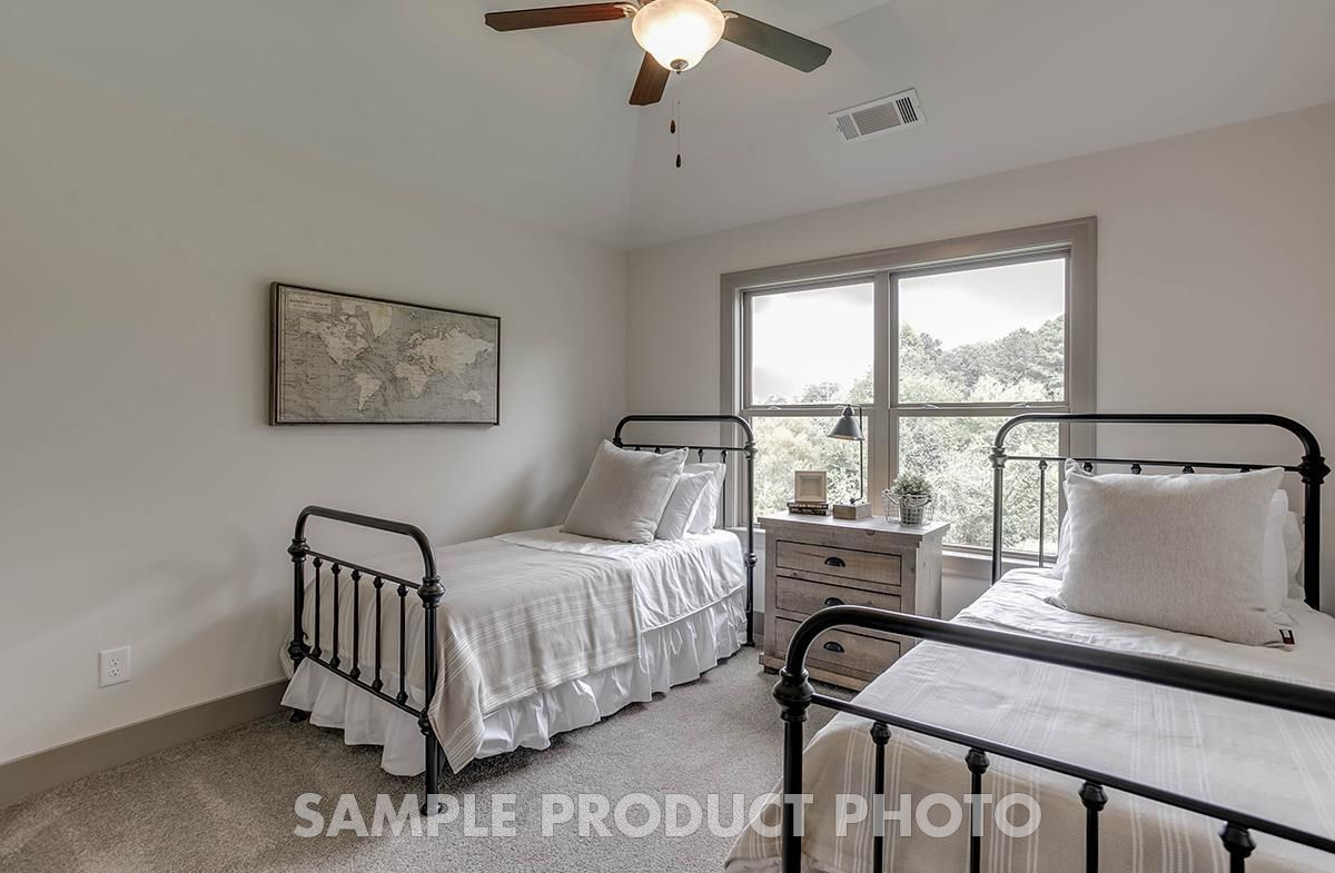 Bedroom featured in the Odette at Montebello By SR Homes in Atlanta, GA
