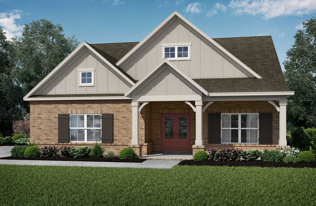 Exterior featured in the Holly at Stonewood By SR Homes in Athens, GA