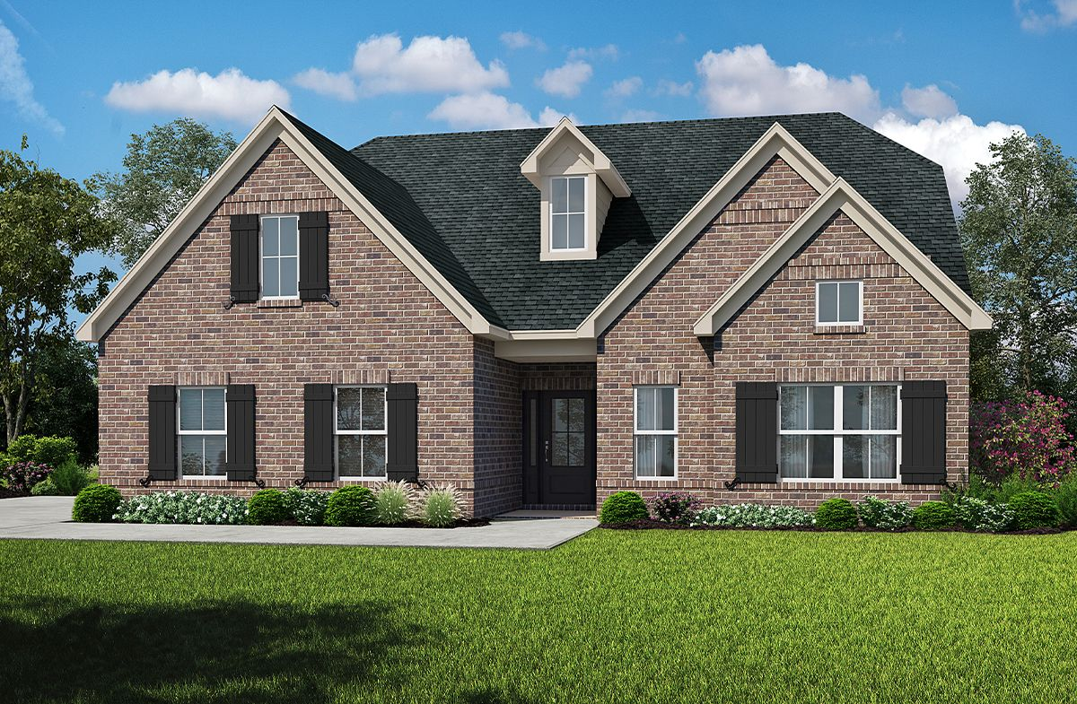 Exterior featured in the Ryleigh at Stonewood By SR Homes in Athens, GA