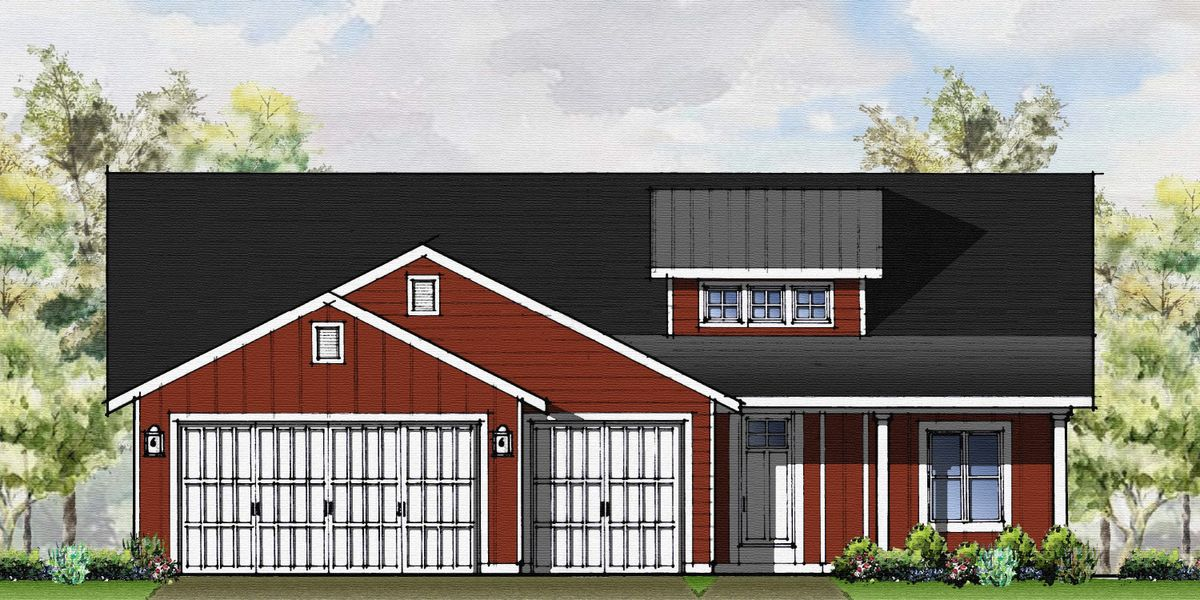 Keepsake Farmhouse Rendering