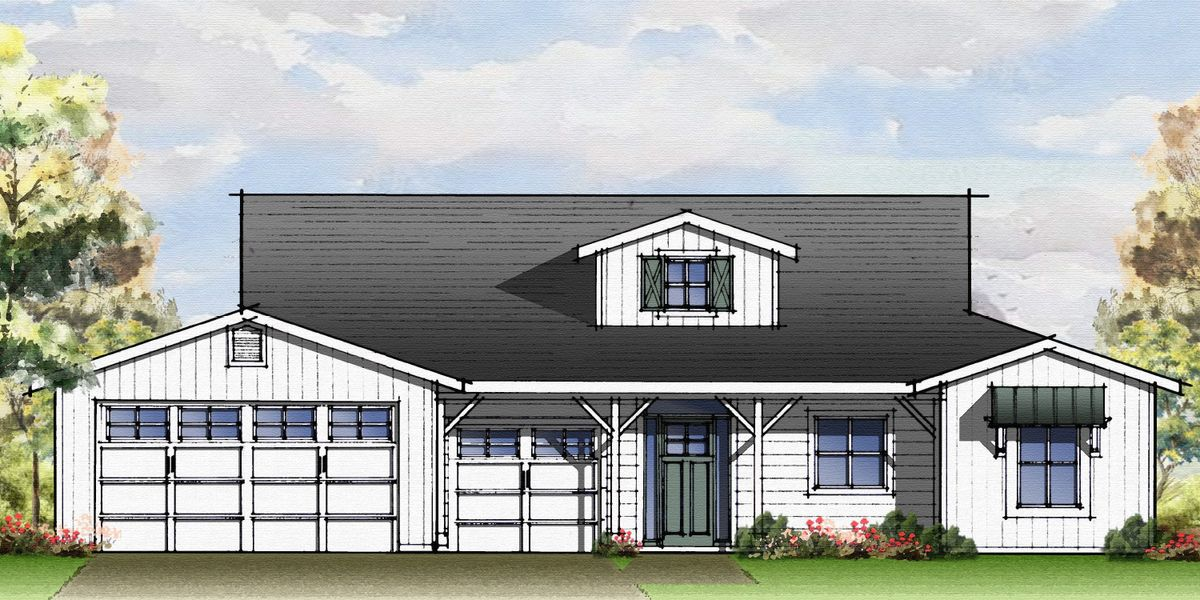Farmhouse Rendering