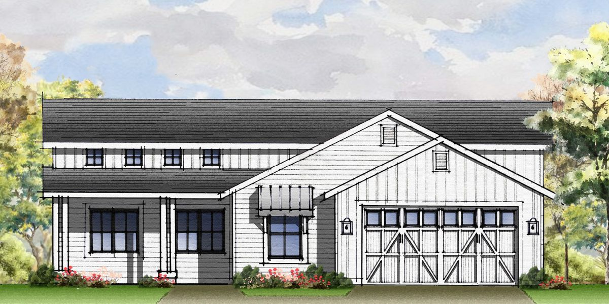 Heritage Farmhouse Rendering