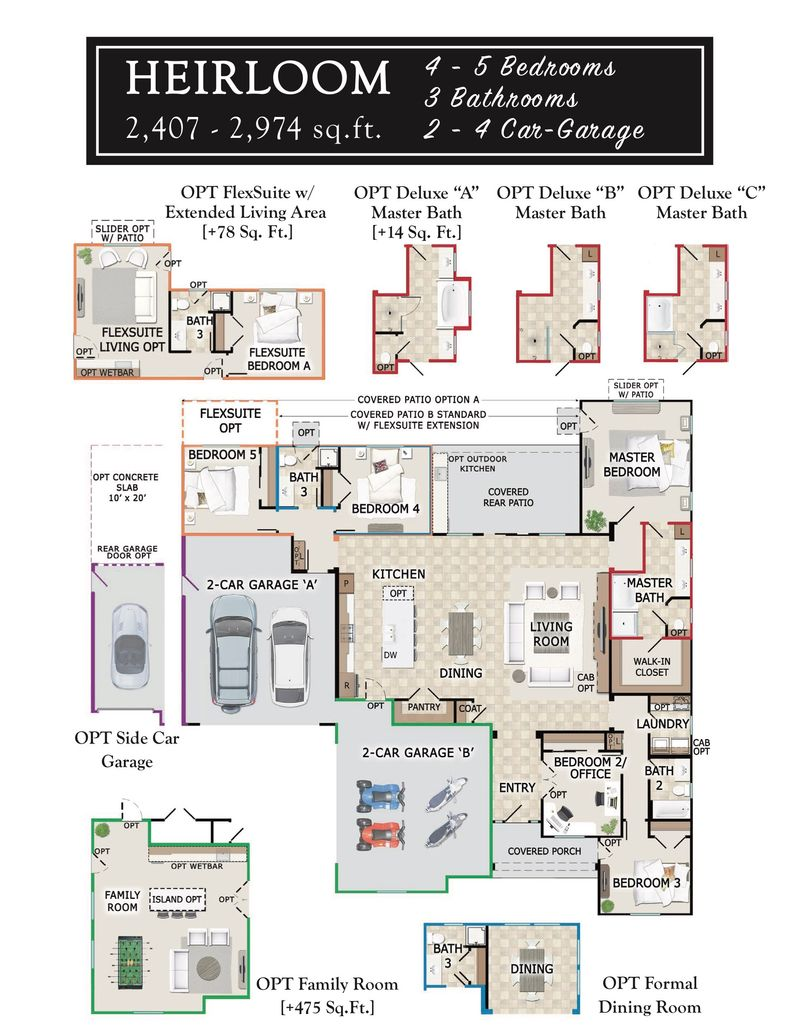 Heirloom Floorplan