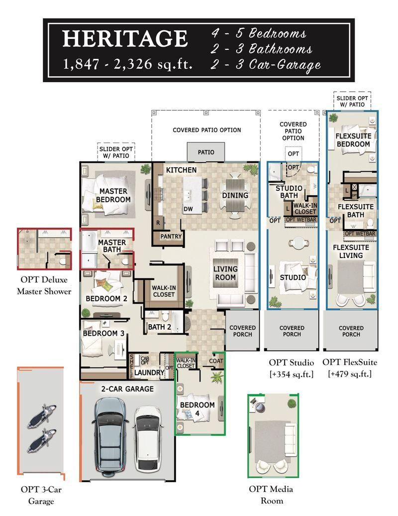 Heritage Floorplan