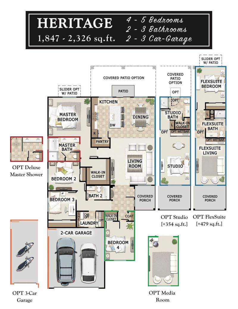 Heritage Floor Plan