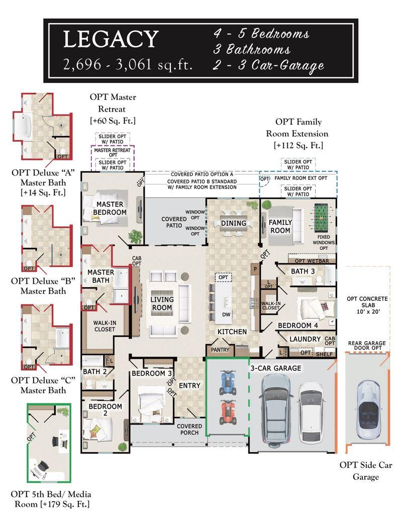 Legacy Floor Plan
