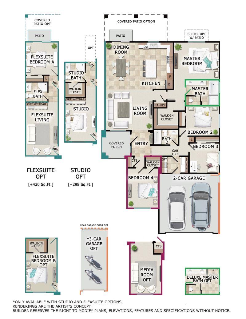 Sedona Floor Plan