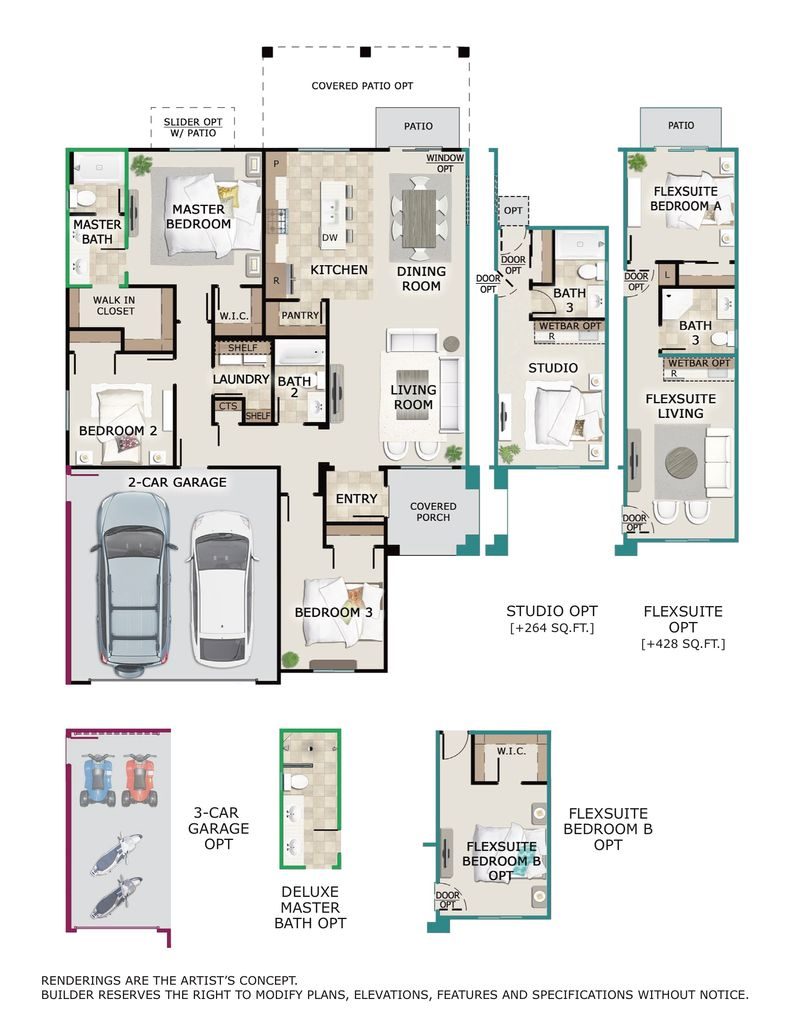 Cascade Floor Plan