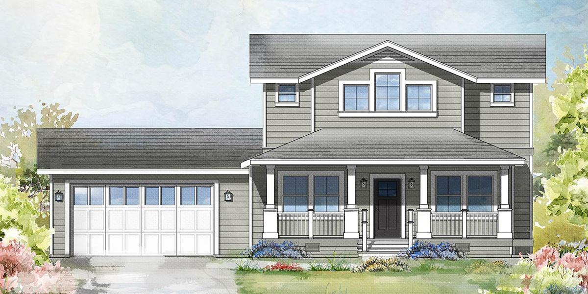 Lot 1 Front Elevation