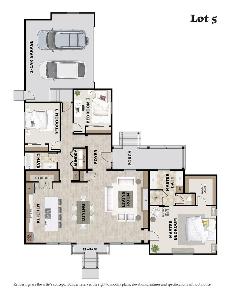 Lot 5 Floor Plan