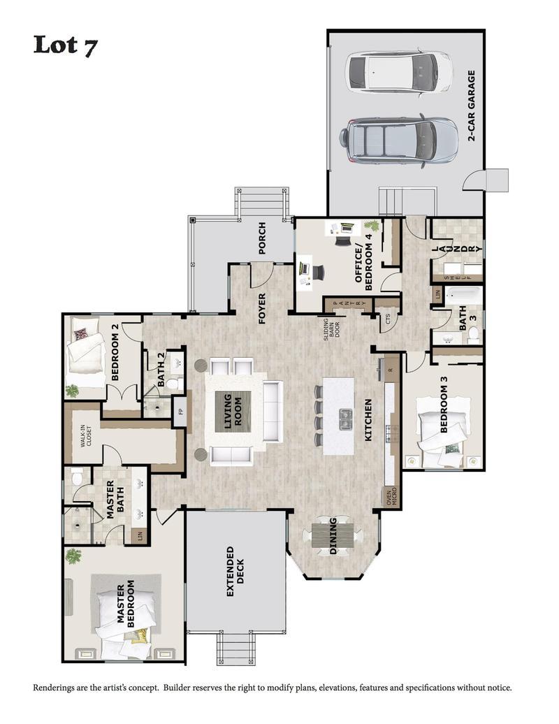 Lot 7 Floorplan