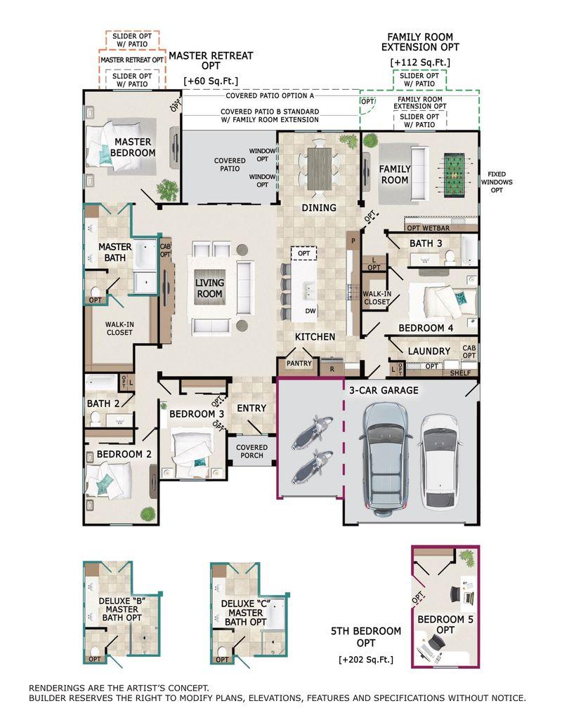 Sonoma Floor Plan