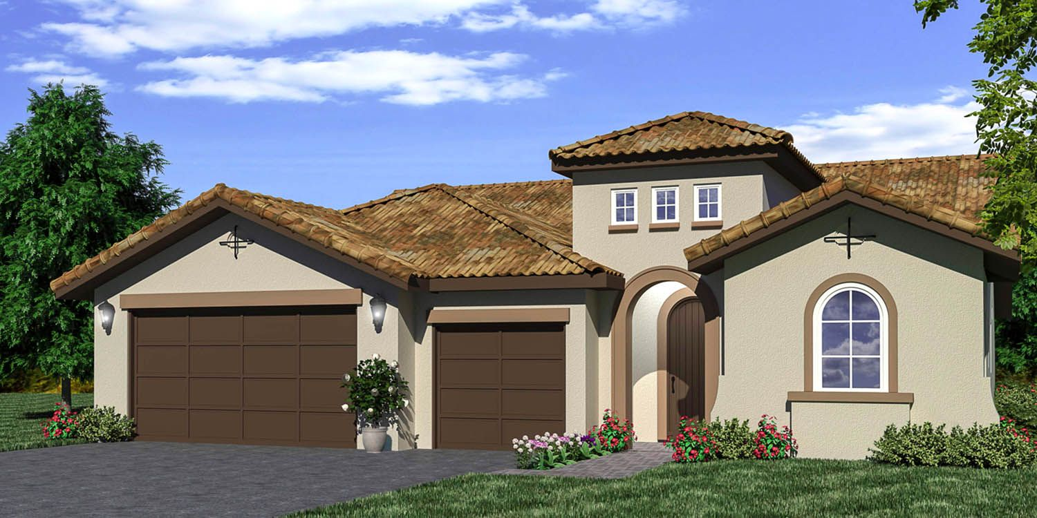 Exterior featured in the Shasta By S & S Homes in Bakersfield, CA